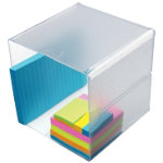 Deflect o single cube desktop organiser