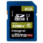 Integral UltimaPro SDHC memory card 8GB