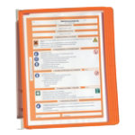 Durable Display Unit 555109 A4 Orange