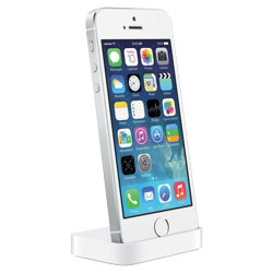 Apple Docking Station for iPhone 5 5s  White
