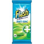 Flash Antibacterial Wipes Pack 60