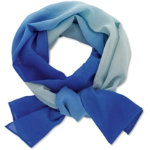 Ladies tonal scarf blue