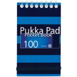Pukka Navy Pocket Notebook A7 Blue Pack of 6