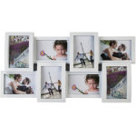 Set of two white photo frames