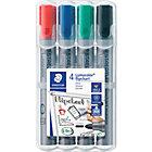 Staedtler Lumocolor Flipchart Marker Assorted Pack 4