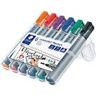 Staedtler Lumocolor Flipchart Marker Assorted Pack 6
