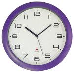 Alba Easytime Clock Purple 300mm Diameter