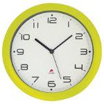 Alba Easytime Clock Green 300mm Diameter