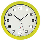 Alba Easytime Clock Green 300mm Diameter