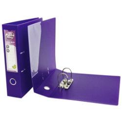 Pukka Filing Polypropylene Lever Arch File A4 Purple