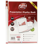Pukka Filing Presentation Display Book 20 Pocket A4 Clear