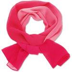 Ladies tonal scarf fushsia