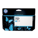 Original HP No727 Designjet cartridge 130ml cyan B3P19A