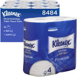 Kimberly Clark Professional Bathroom Tissue Extra Comfort White Pack 4