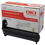 Oki 43870021 Yellow Drum Unit