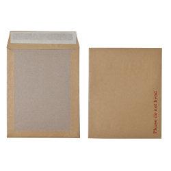 Office Depot Peel and Seal Board Back Envelopes 267 x 216mm 115gsm Box 125 Manilla