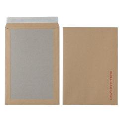 Office Depot Peel and Seal Board Back Envelopes 324 x 229mm 115gsm Box 125 Manilla