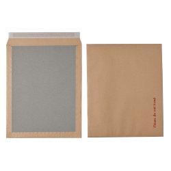 Office Depot Peel and Seal Board Back Envelopes 394 x 318mm 115gsm Box 50 Manilla