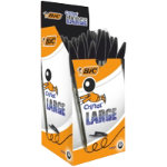 Bic Cristal Large Ballpoint Pen Broad Tip Black Pack of 50