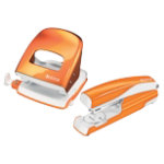 Leitz Stapler and Holepuncher 30 Sheets Orange