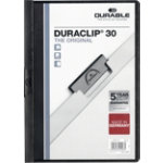 Durable Duraclip 3mm Folder Black