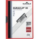 Duraclip 3mm Folder Red