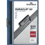 Durable Duraclip 6mm Folder Dark Blue