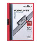 Duraclip 6mm Folder Red