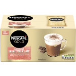 Nescafe Gold Cappuccino Sachets Unsweetened