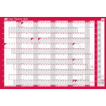 Sasco 2016 Unmounted Year Wall planner 915 x 610 mm