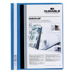 Durable Duraplus Quotation File Blue