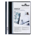 Durable Duraplus Quotation File Black