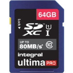 Integral SDXC Card 64GB UltimaPro 64 GB