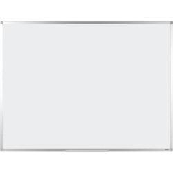 Office Depot Superior aluminium frame magnetic enamel drywipe whiteboard 1200 x 2400mm