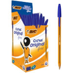 Bic Cristal Fine Ballpoint Blue Pack of 50
