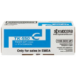 Kyocera TK 550K Black Laser Toner Cartridge