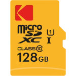 Kodak Micro SDXC Memory Card UHS I U1 Premiun 128 gb