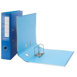 Rexel Eastlight Colorado Lever Arch File Blue Foolscap 80mm