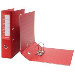 Rexel Eastlight Colorado Lever Arch File Red Foolscap 80mm