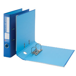 Rexel Eastlight Colorado Mini Lever Arch File Blue A4 50mm