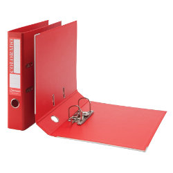 Rexel Eastlight Colorado Mini Lever Arch File Red A4 50mm