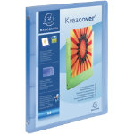 Exacompta Kreacover Ring Binder A4 Blue 4