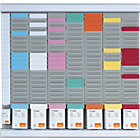Nobo 7 days T Card Kit Neutral 480 x 480 x 15