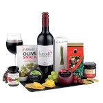Hamper Wine And Cheese Selection Assorted