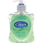 Carex Hand Wash Aloe Vera Transparent 250 ml