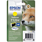 Epson T1284 Original Ink Cartridge C13T12844012 Yellow