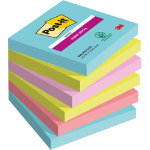 Post it Notes Super Sticky Assorted 76 x 76 mm 74gsm