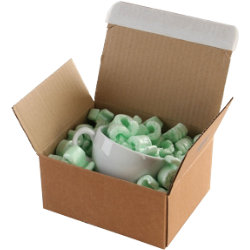 Purely Packaging Kraft peel and seal postal boxes 213 x 153 x 109 mm box of 20
