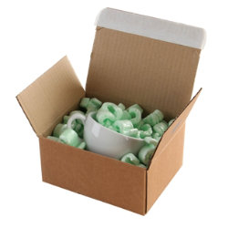 Purely Packaging Kraft peel and seal postal boxes 260 x 220 x 130 mm box of 20