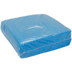 General purpose cleaning cloths blue pack of 50
